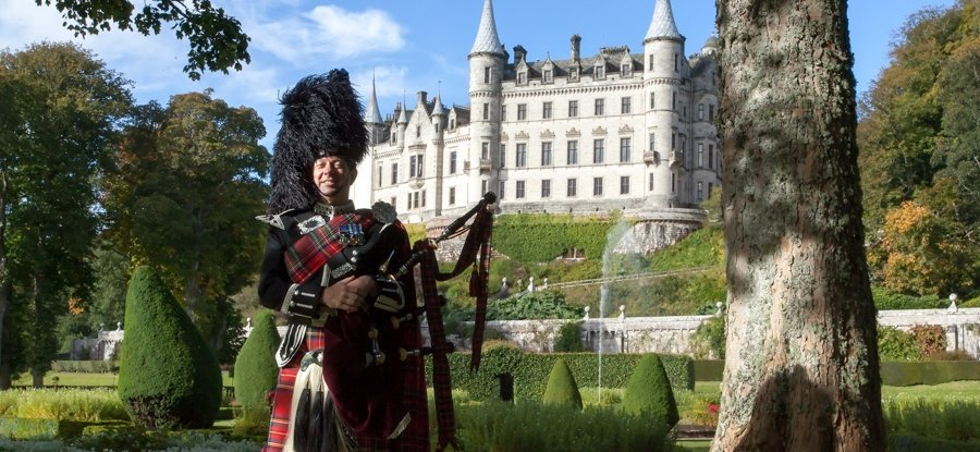 Inverness Wedding Piper
